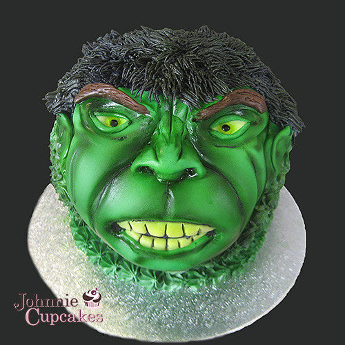 The Hulk Cake - Johnnie Cupcakes