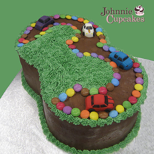 Number Cake - Johnnie Cupcakes
