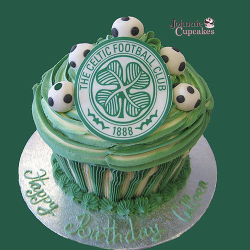 Soccer Football Cake - Johnnie Cupcakes