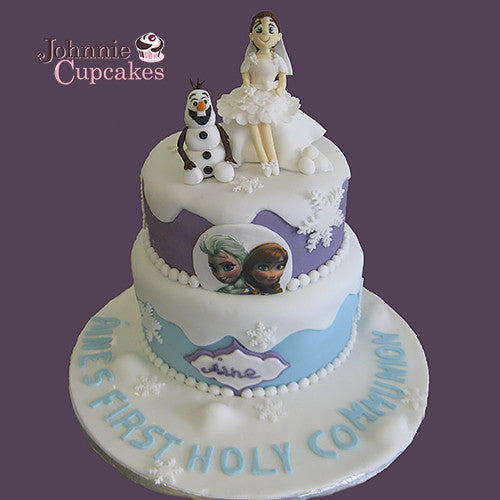 Communion and Confirmation Cake - Johnnie Cupcakes