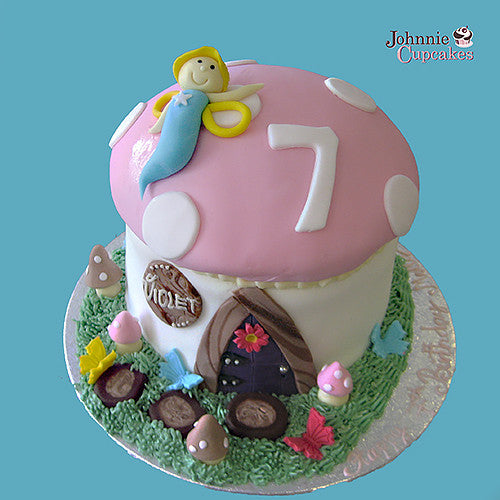 Fairy Door Cake - Johnnie Cupcakes