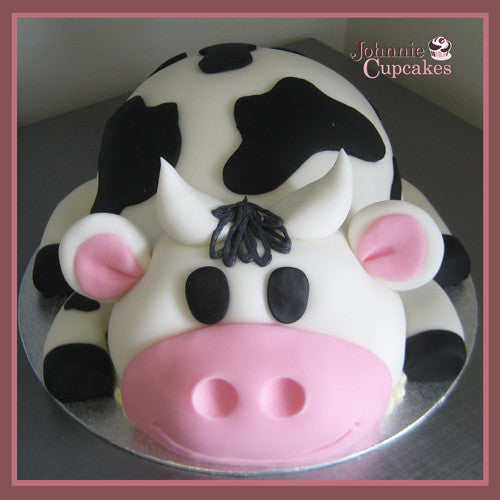 Cow Theme Cake - Johnnie Cupcakes