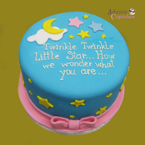 Baby Cake with Poem - Johnnie Cupcakes