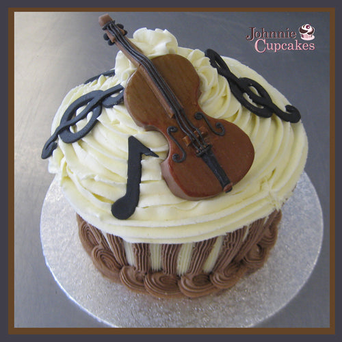 Cello Music Cake - Johnnie Cupcakes