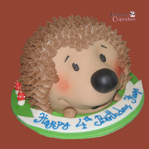 Hedgehog Cake - Johnnie Cupcakes