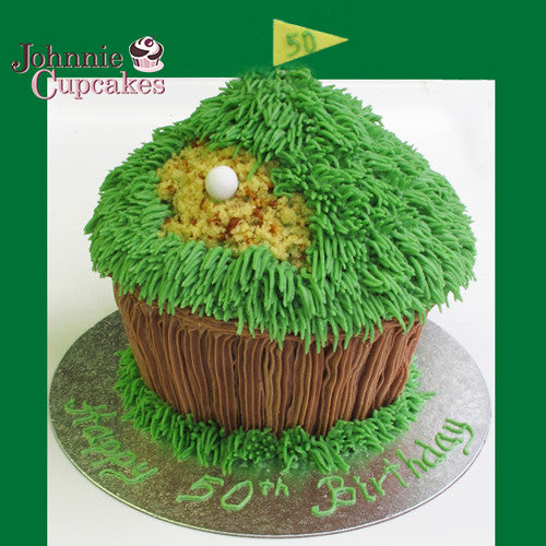Giant Cupcake Golf - Johnnie Cupcakes