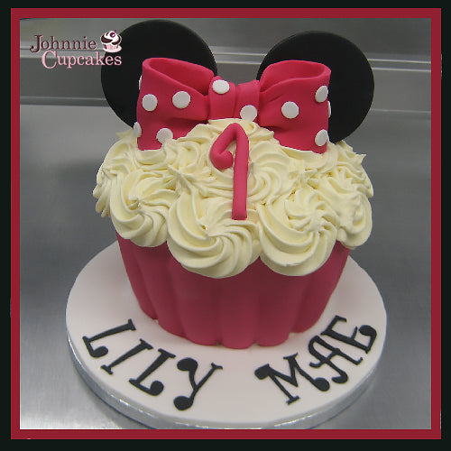 Mini Mouse Cake - Johnnie Cupcakes