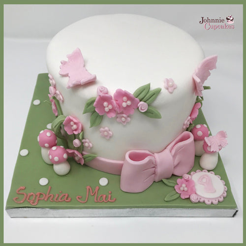 Flowers Cake. - Johnnie Cupcakes