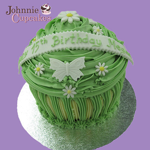 Giant Cupcake Butterflies. - Johnnie Cupcakes