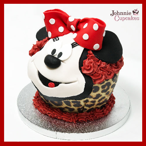 Mini Mouse Cupcake - Johnnie Cupcakes