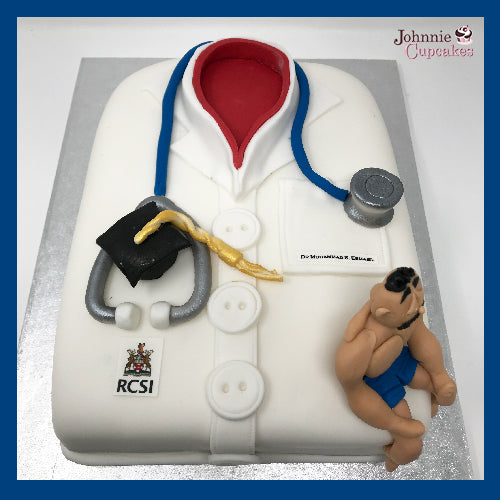 Doctor Cake - Johnnie Cupcakes