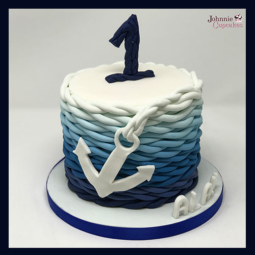 Sailor Cake - Johnnie Cupcakes