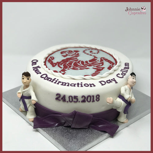 Martial arts Cake - Johnnie Cupcakes