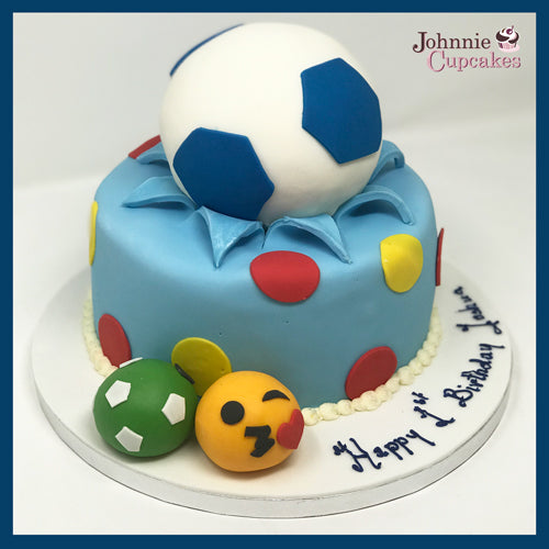 Football Cake - Johnnie Cupcakes