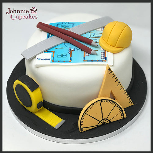 Architect Cake - Johnnie Cupcakes
