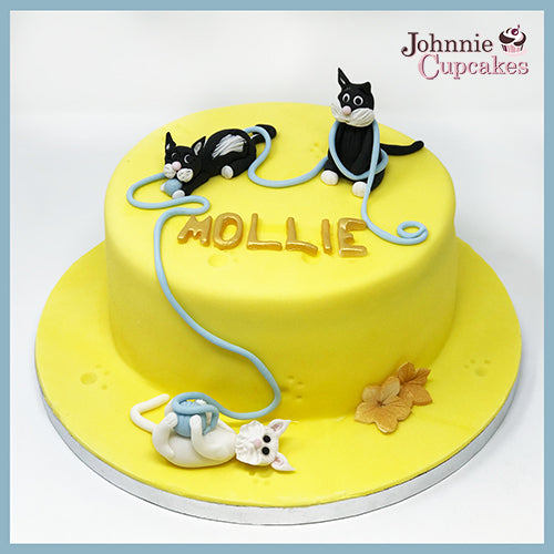 Cats Cake - Johnnie Cupcakes