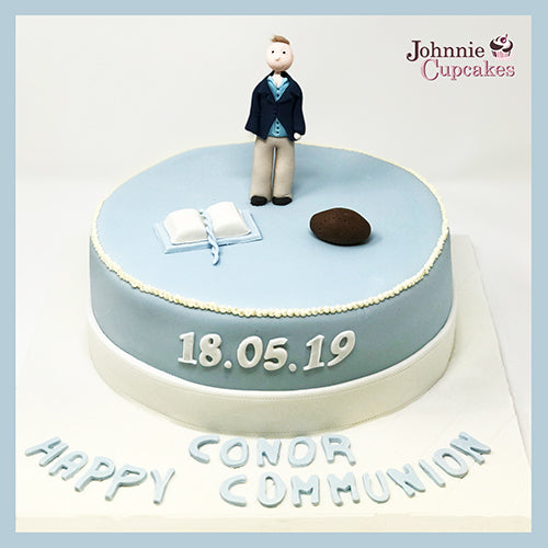 Communion Cake - Johnnie Cupcakes
