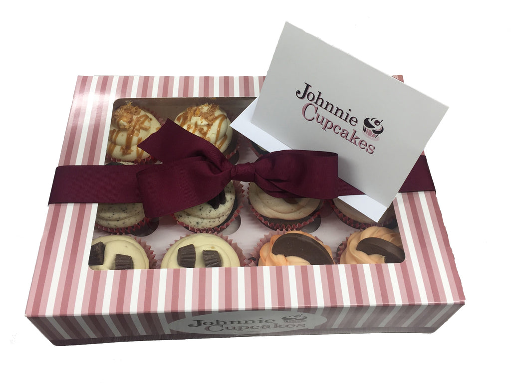 Gift Card and Ribbon - Johnnie Cupcakes