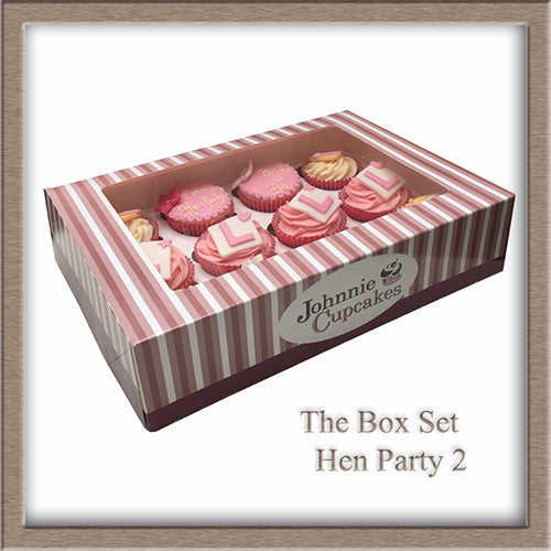Hen Party cupcakes L plate. - Johnnie Cupcakes