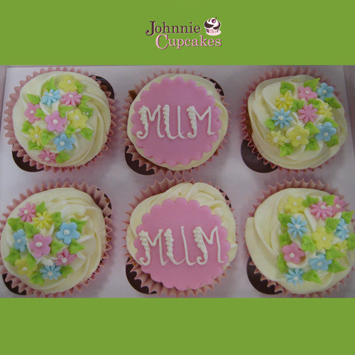 Cupcakes For Mum - Johnnie Cupcakes