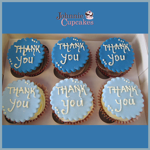 Johnnie Cupcakes Thank You Cupcakes