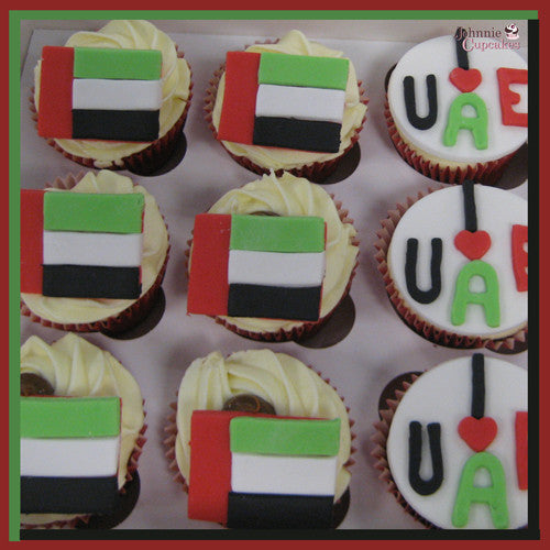Flags of the World Cupcakes. - Johnnie Cupcakes