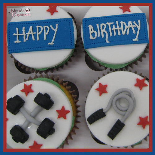 Keep Fit Cupcakes. - Johnnie Cupcakes