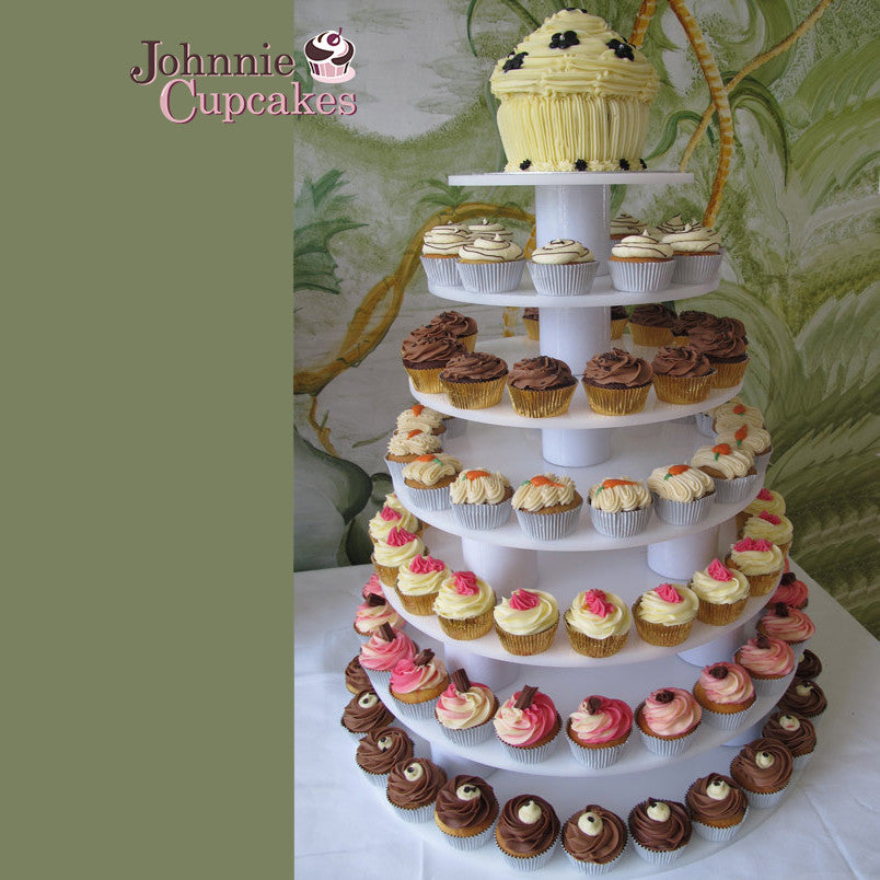 Wedding cupcakes and cakes