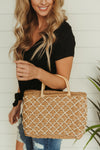 Vacay Ready ~ Straw Woven Bag