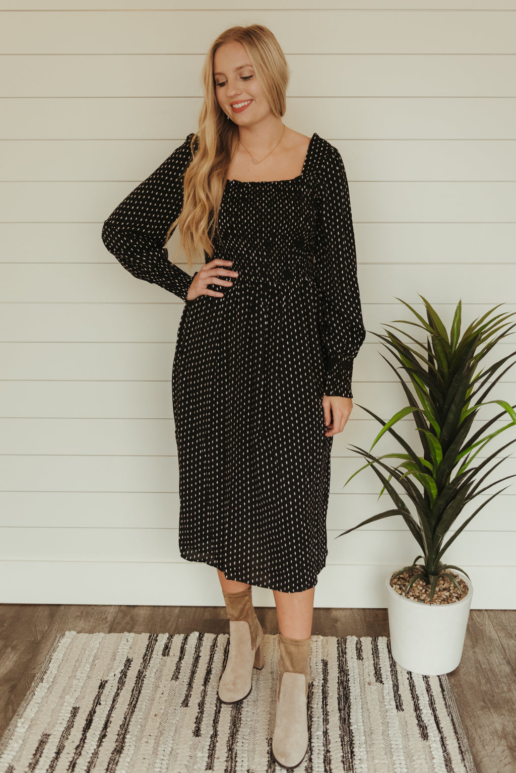 Keep It Chic Dress~Black
