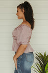 Sun Seeker Peplum Top