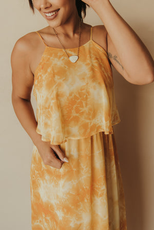 Sunkissed Sweetheart Dress ~ Marigold