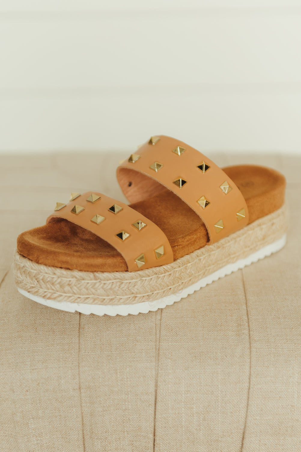 Greatness Slip On Tennis Shoe ~ Taupe - J. Lilly's Boutique