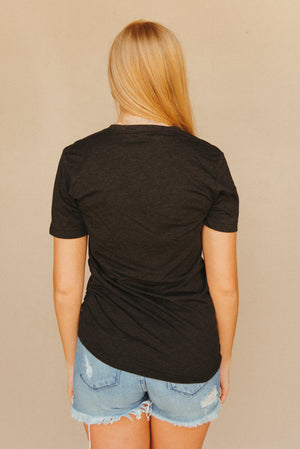 Retro J. Lilly's Unisex T-Shirt ~ Charcoal - J. Lilly's Boutique