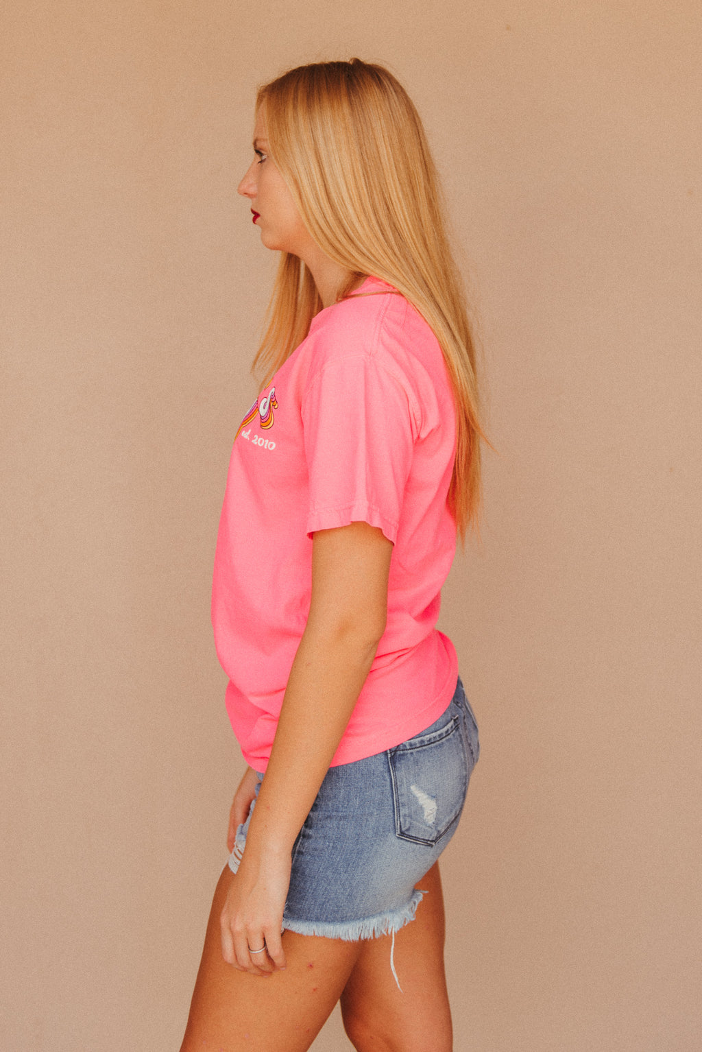 Retro J. Lilly's Unisex T-Shirt ~ Neon Pink - J. Lilly's Boutique