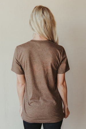 Pour Some Pumpkin On Me Tee ~ Brown - J. Lilly's Boutique