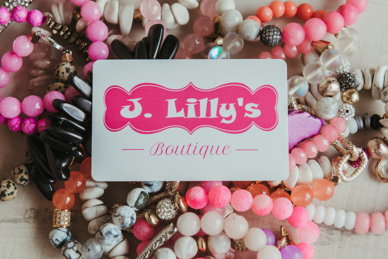 Gift Card - J. Lilly's Boutique