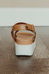 Banica Sling Back Wedge ~ Tan