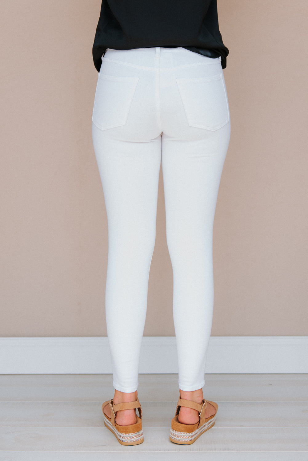 Got Milk Skinny Jeans - J. Lilly's Boutique