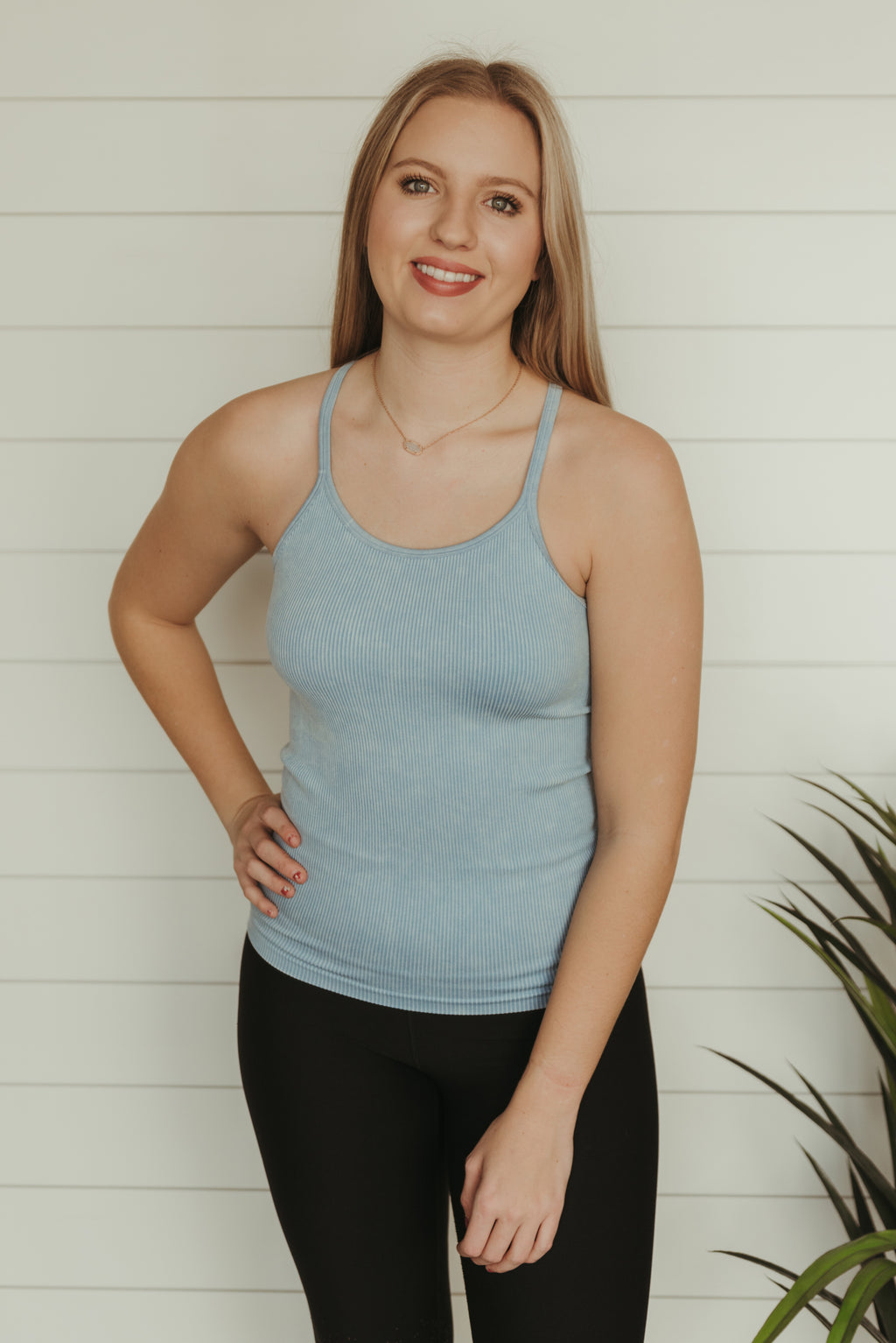 Movement Faded Blue Tank