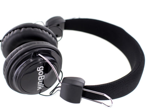 goBulk BXT-1565 Headphone for School or Library (Wipe Clean Design) - goBulk.com