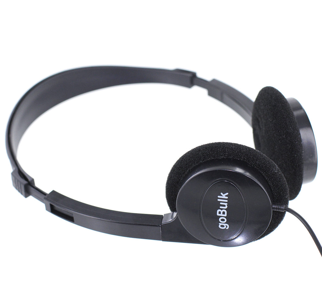 goBulk Premium Sound H5 Headphone (Soft Foam Earpads) - goBulk.com