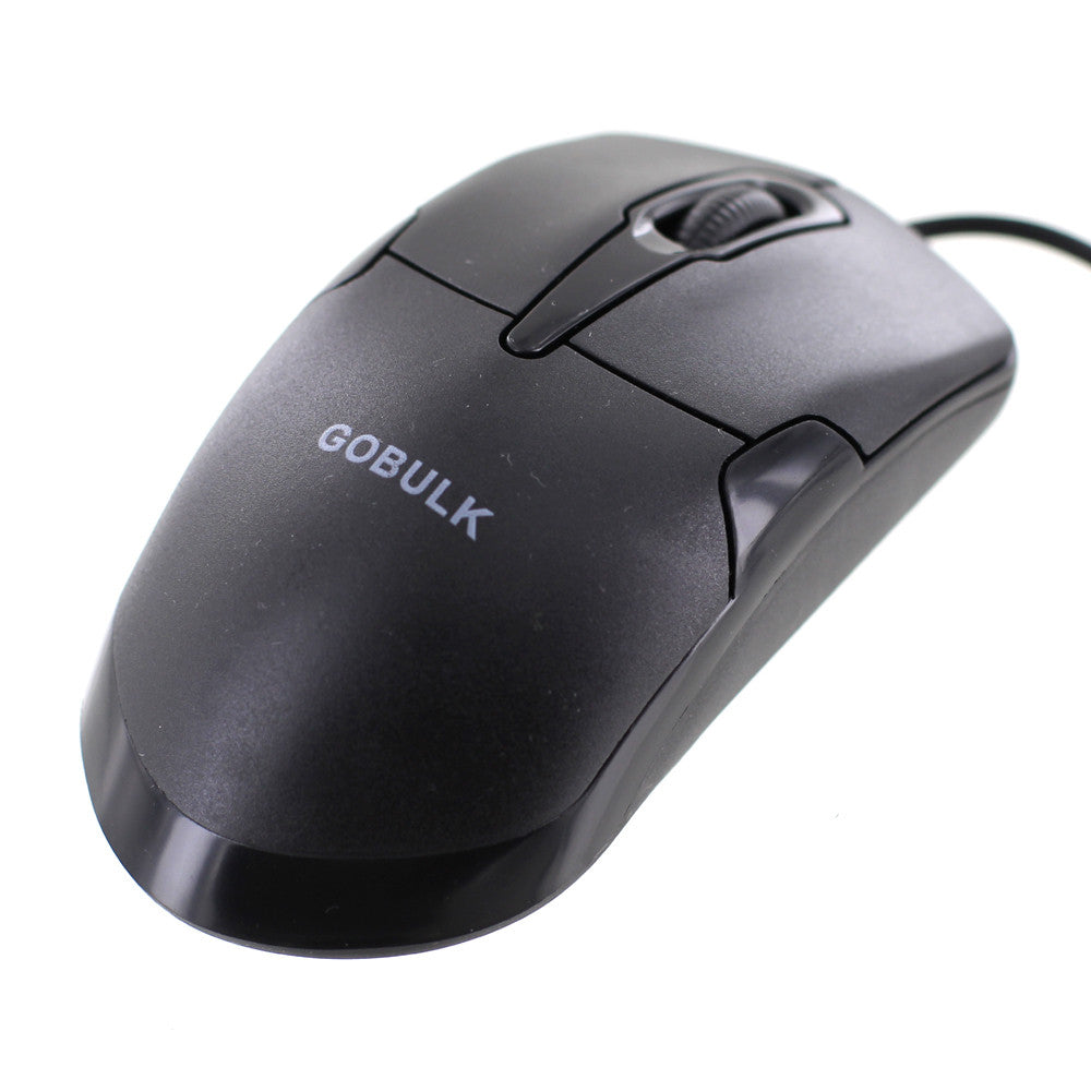 goBulk USB Wired Optical Mouse (CM-1)