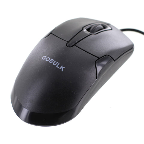 goBulk USB Wired Optical Mouse (CM-1) - goBulk.com