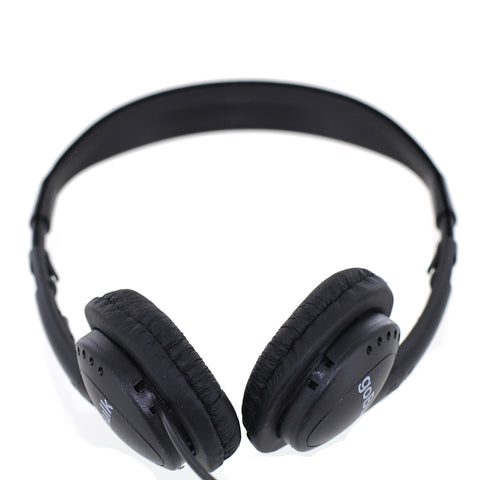 goBulk H2 Stereo Headphone (Wipe-Cleanable Leatherette Earpads)