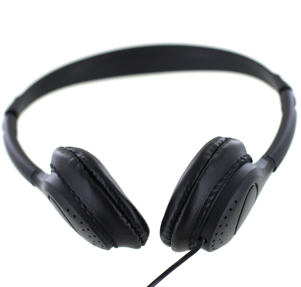 """No Logo"" goBulk H7  Good Sound Headphone (Wipe-Cleanable Earpads) - goBulk.com"