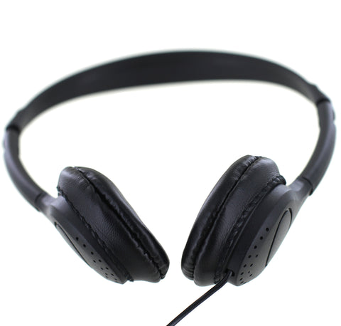 """No Logo"" goBulk H7  Good Sound Headphone (Wipe-Cleanable Earpads)"