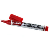 goBulk Whiteboard Dry Erase Marker for Schools (Red Color) - goBulk.com