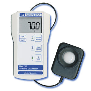 MW700 Standard Portable Lux Meter with waterproof probe
