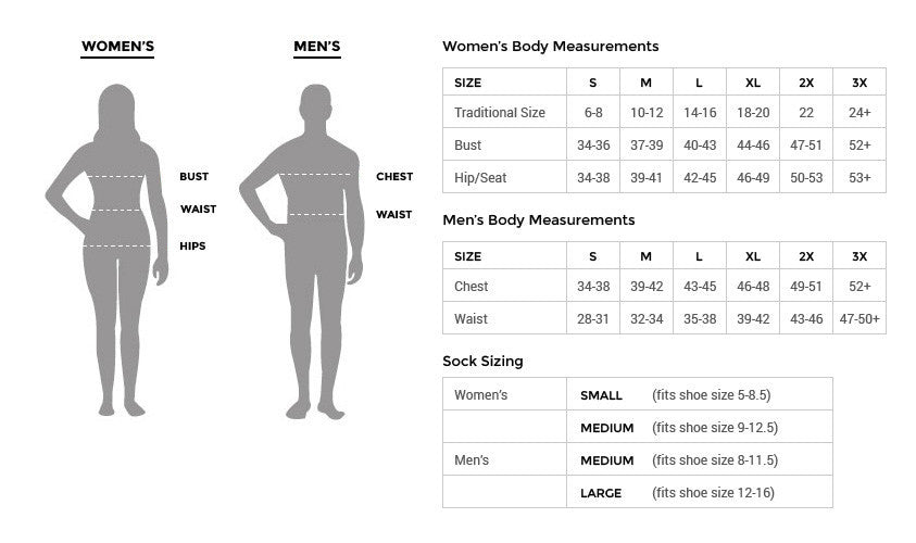 Plush Boutique Size Chart (Regular and Plus Size Boutique)